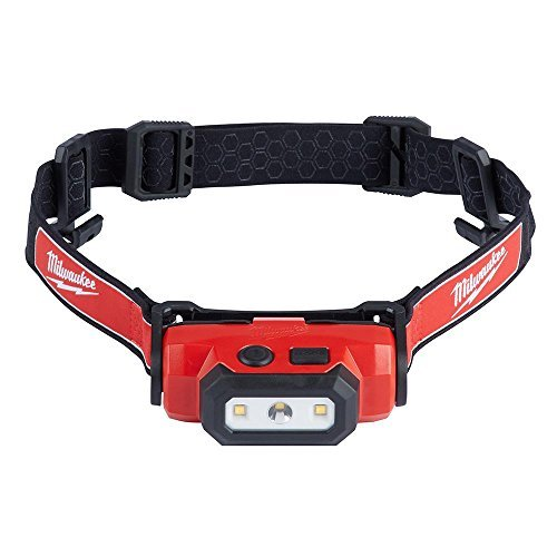 Milwaukee 2111-21 475-Lumen LED Rechargeable Hard Hat Headlamp by Milwaukee