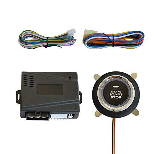 Universal Car Engine Start Stop Push Button with Remote Engine - Install Engine Starter Remote