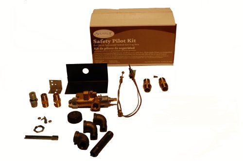Fireplace Safety Kit Pilot - Sure Heat Safety Pilot Light for Natural Gas and Liquid Propane fire places