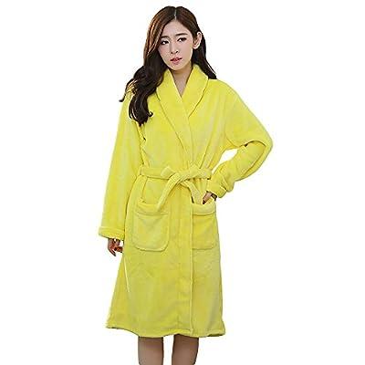MUST ROSE SPORTS AND HOMEWEAR Women's Flannel Kimono Robe Bath Robes
