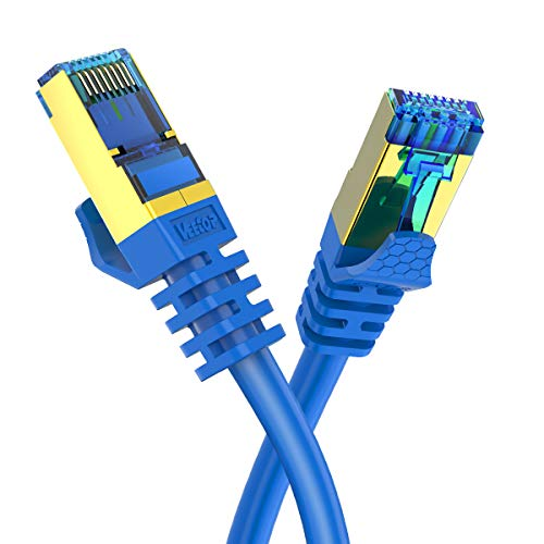 1FT CAT8 Ethernet Cable Veetop 40Gbps 2000Mhz