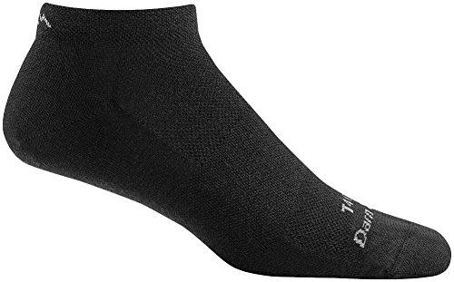 Darn Tough Tactical No Show Light Sock - Black Large