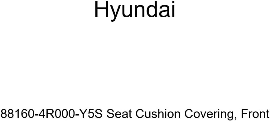 Front Genuine Hyundai 88160-4R000-Y5S Seat Cushion Covering