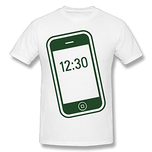 Hontiano Personalize Mobile Phone T Shirt Man Comfortable Pre-shrunk Contemporary Fit by Hontiano