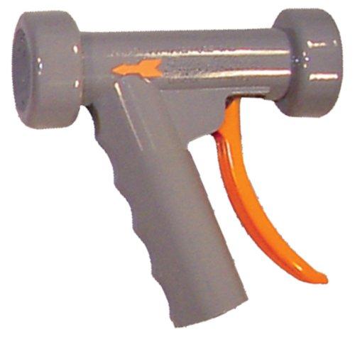 SuperKlean 150S-G Pistol Grip Spray Nozzle, Stainless Steel, 1/2 NPT, Gray