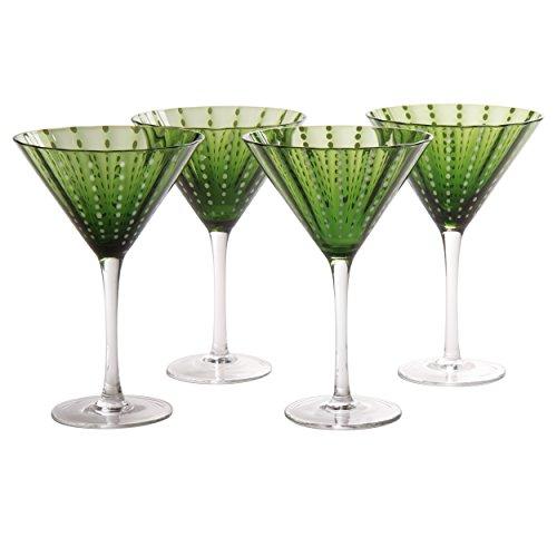 Artland Cambria Martini 8 oz (Set of 4), Sage]()