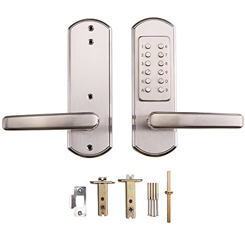 Bravex New Mechanical Door Lock Digital Code Keyless
