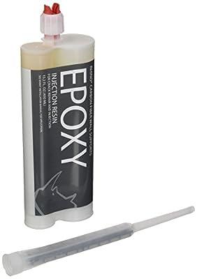 Epoxy Resin Injection - Epoxy Resin Filler For Foundation Repair, Wall Repair, Basement Repair, Pool Repair, Concrete & Crack Repair | Concrete Filler For Resin Repair