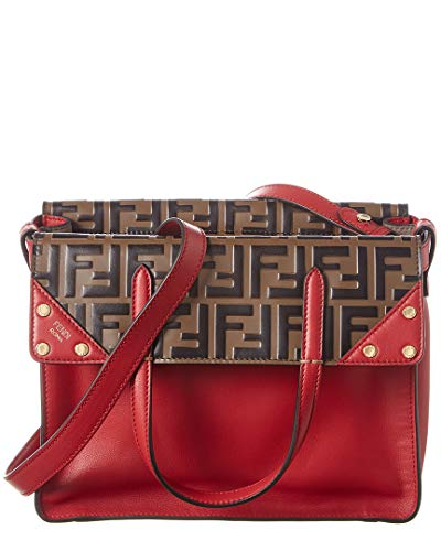 FENDI mujer Flip bolsas de mano rosso