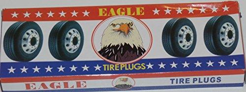 Eagle 250 Seals Tire Repair Plugs 100% Self Vulccanizing Tubeless Slim 8'' X 1/8* by EAGLE (Image #2)