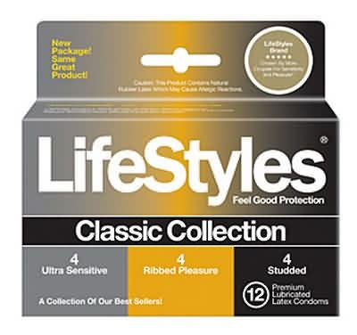 Lifestyles Classic Collection 12 Pack, Health Care Stuffs