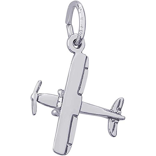 Rembrandt Charms Cessna 180 Charm, Sterling Silver by Rembrandt Charms