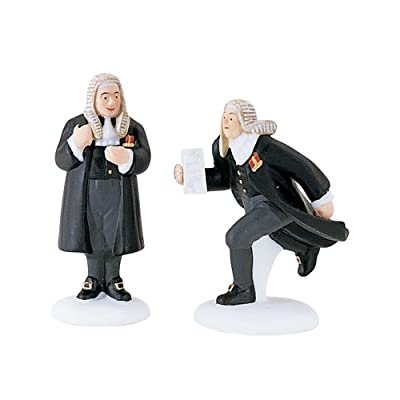 Dickens Village Members of Parliament Set of 2