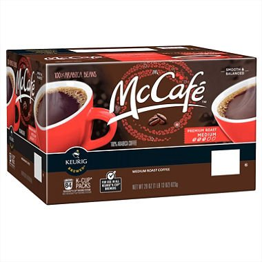 McCafe Premium Roast Coffee K-Cups Medium