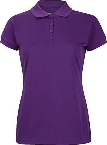 (Premium Polo T-Shirt For Junior Girls - High-Performance Moisture Wicking)