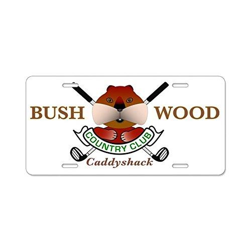5500b0f8646d2 CafePress - Bushwood Country Club - Aluminum License Plate
