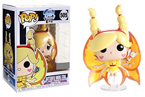 Funko Pop! Disney Star vs The Forces of Evil Butterfly Mode Star Exclusive Vinyl Figure (Disney Star)