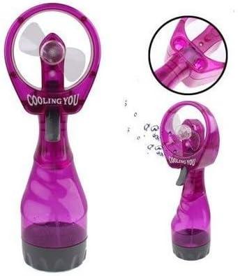 Mini ventilateur brumisateur portable jet d'eau rafraîchisseur Violet