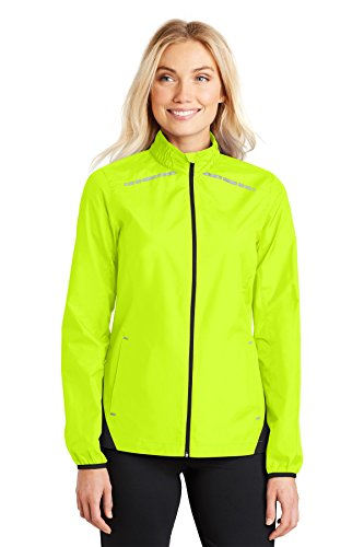- Port Authority Ladies Zephyr Reflective Hit Full-Zip Jacket. L345 Safety