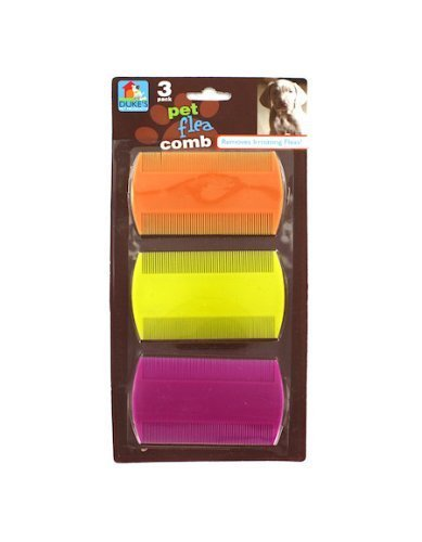 Plastic Flea Comb - DUKES Pet Flea Combs