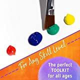 Crafts 4 All Paint Brushes Set Professional Fine