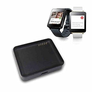 SeeMe® Nuevo soporte cargador USB base de carga adaptador para LG G Watch W100 reloj