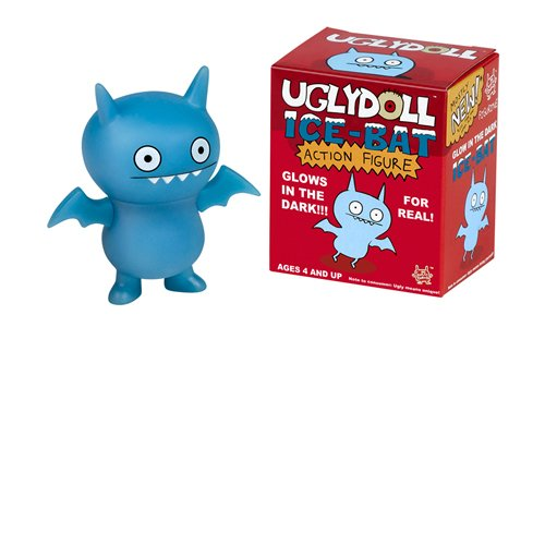 (Glow in the Dark Ice-Bat Uglydoll Action Figures)