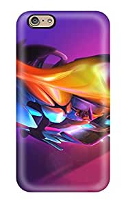 Pretty PmxuxFF4140xAhyU Iphone 6 Case Cover/ Colors Abstraction Series High Quality Case