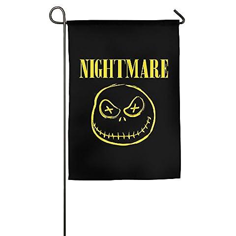 FWOVDS Nightmare Face Garden Flag 1218 Inch / 1827 Inch - Evergreen Golf Umbrella