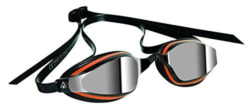 MP Michael Phelps K180 Plus - Gafas de natación, color negro