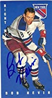 Autograph Warehouse 66110 Bob Nevin Autographed Hockey Card New York Rangers 1995 Parkhurst 1964 1965 Tallboys No. 103