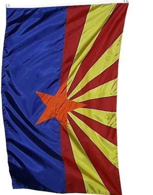 Arizona Flag (Arizona US State Flag - 3 foot by 5 foot Polyester)