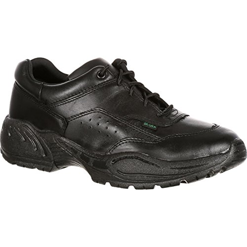 - Rocky Men's 911 Athletic Oxford Duty Shoes USPS Approved Black 7 EE US
