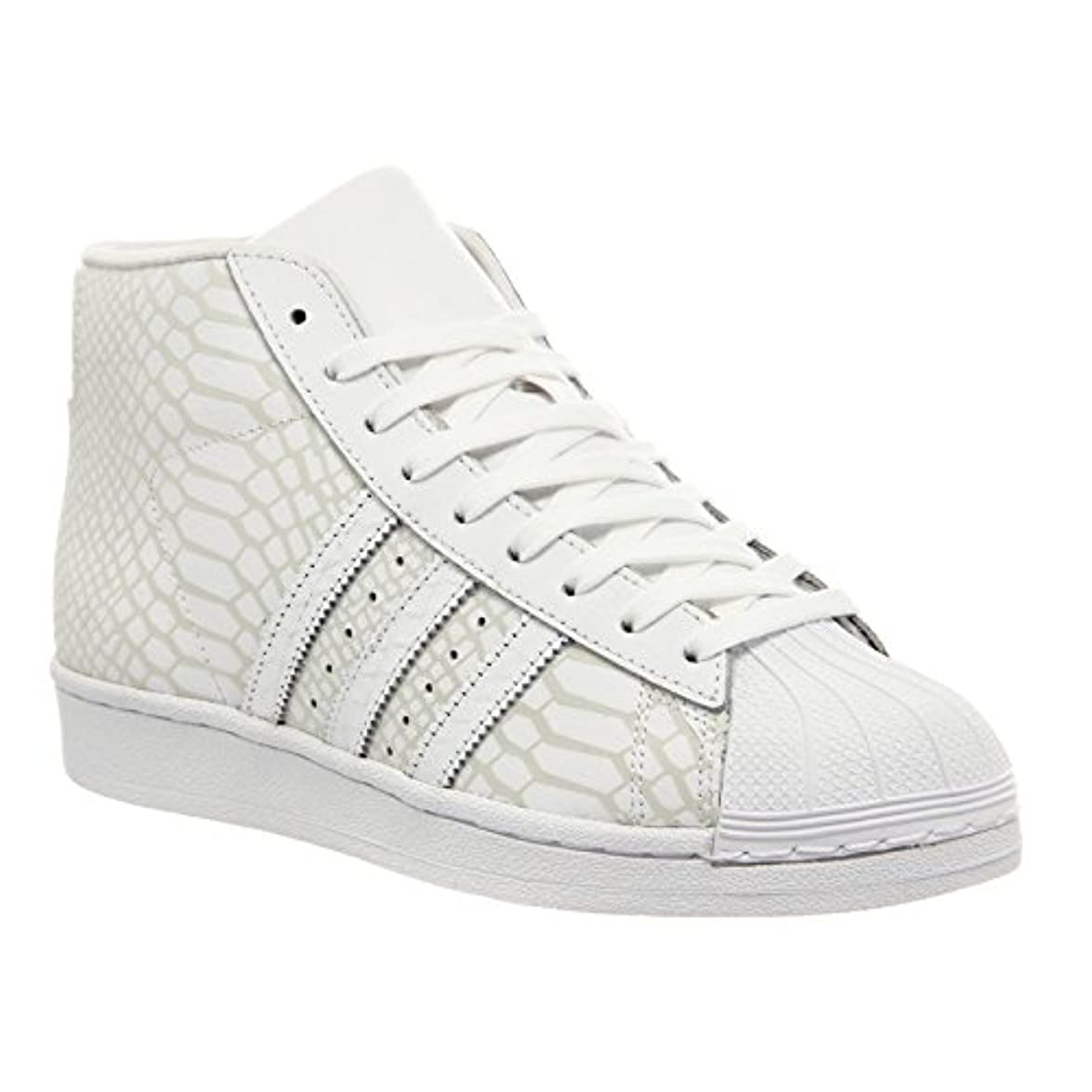 Adidas Originals Pro Model Chaussures Mode Sneakers Unisex Blanc