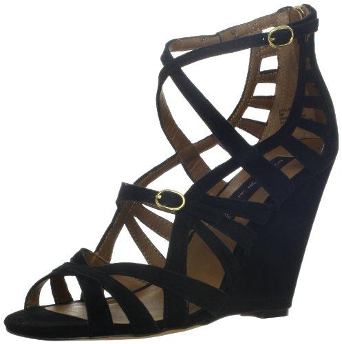 STEVEN by Steve Madden Women's Stellir Sandal,Black,8 M US