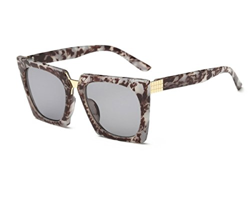 Costume Mob Italian (Konalla Super Oversized Retro Square Sunglasses Unisex)