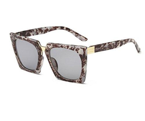 Konalla Super Oversized Retro Square Sunglasses Unisex - Kim Wears Sunglasses Black Aviator Kardashian