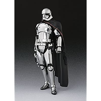 S. H. Figuarts Star Wars CAPTAIN PHASMA (THE LAST JEDI) about 155 mm ABS & PVC painted action figure: Toys & Games