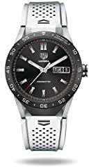 TAG Heuer Connected is built on the latest release of Android Wear with thousands of apps at the Google Play store. It is also iOS compatible. TAG Heuer Connected is equipped with directional wind and weather monitoring, RaceChrono Pro capabi...
