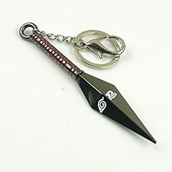Colgante Llavero Cosplay Sasuke Naruto Kunai cuchillo ...