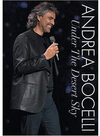 Amazon com: Andrea Bocelli - Under the Desert Sky [CD