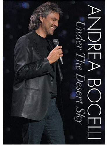 Continental Tv Sales - Andrea Bocelli - Under the Desert Sky [CD Included]