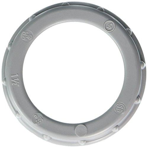 Hubbell-Raco 1406B4 Bushing, 1-1/2-Inch Trade Size, Plastic, Threaded, Rigid/IMC Conduit, 4-Pack