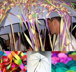 jeu pour mariage danse du parapluie les maris entrent dans la danse d - Serpentin Mariage