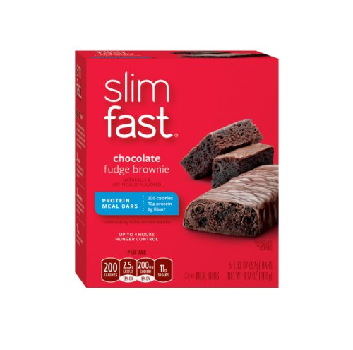 Slimfast Bars repas, Chocolate Fudge Brownie, 5 compter, 1,83 Oz
