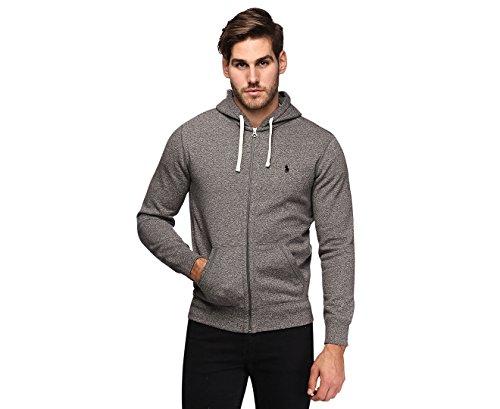 Polo Ralph Lauren Classic Full-Zip Fleece Hooded Sweatshirt (X-Large, Alaskan Heather) from Polo Ralph Lauren