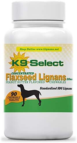 K9 Select SDG Lignans 20 mg Peanut Butter Chewable