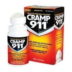 Cramp 911 Muscle Relaxing Roll-on Lotion, 0.71 oz (21 ml), Pack of 3 (Causes Of Muscle Cramps In Calves And Feet)
