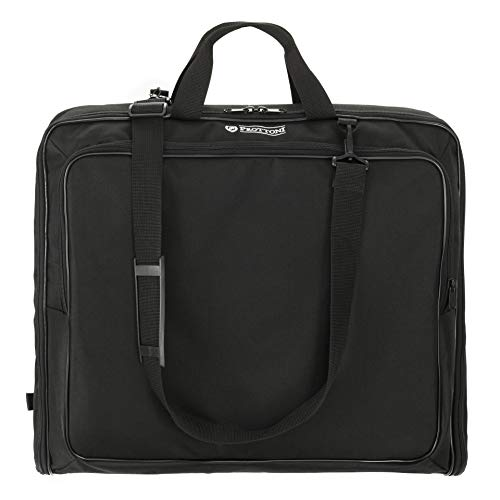 Prottoni 40-Inch Garment Bag for Travel Water-Resistant Carry-On Suit Carrier