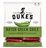 DUKE S Hatch Green Chile Shorty Smoked Sausages, 5.0-ounce Bags (Pack of 2)